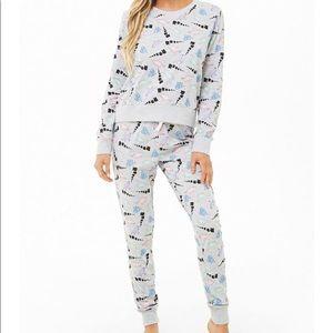 F21 Dinosaur Pajamas